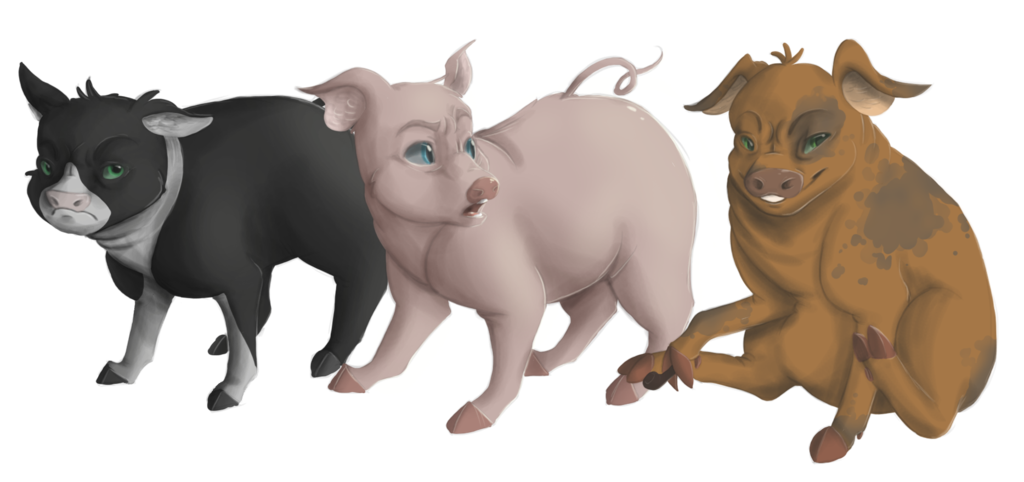 Animal farm clipart mollie vector free download Animal Farm, Chapters 1 - 4 | FlipQuiz Classic vector free download
