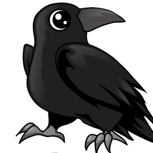 Animal farm raven clipart png library download Moses the Raven (@SFXtrisha) | Twitter png library download