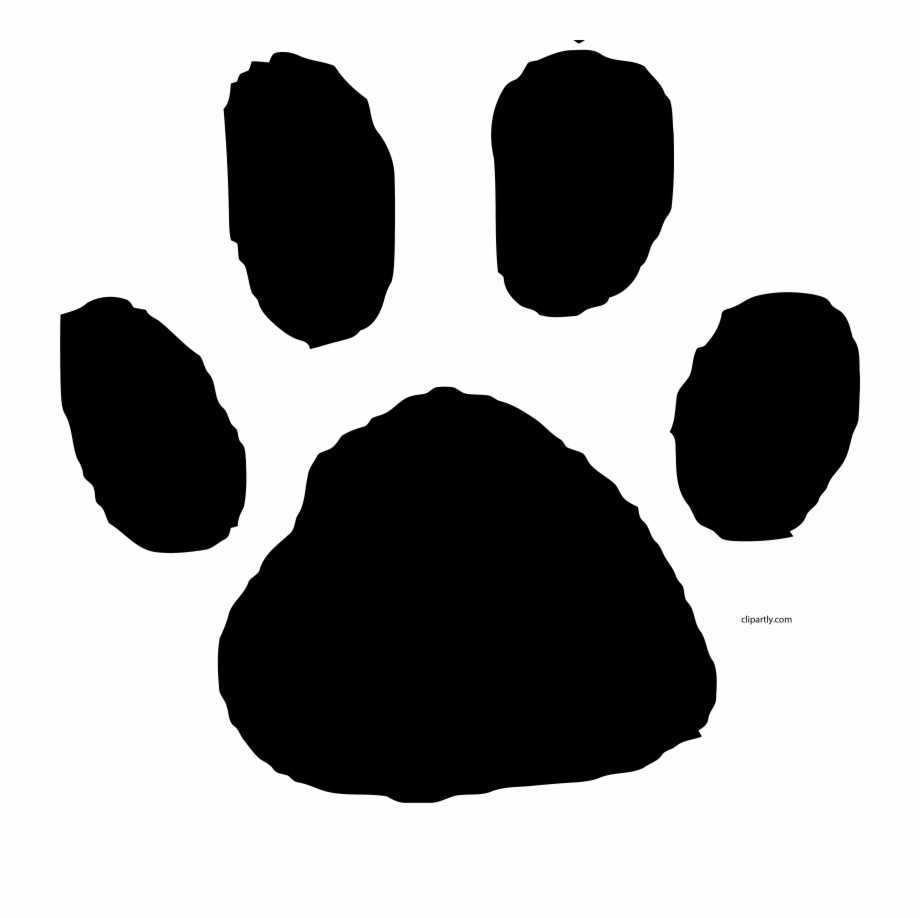 Animal footprint clipart color clip free library Animal Footprint Clip Art Clipart Black Color Png - Animal ... clip free library
