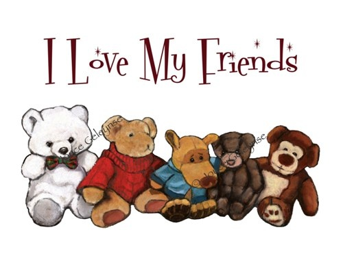 I love my friends clipart png free stock Animal Friendship Cliparts - Cliparts Zone png free stock