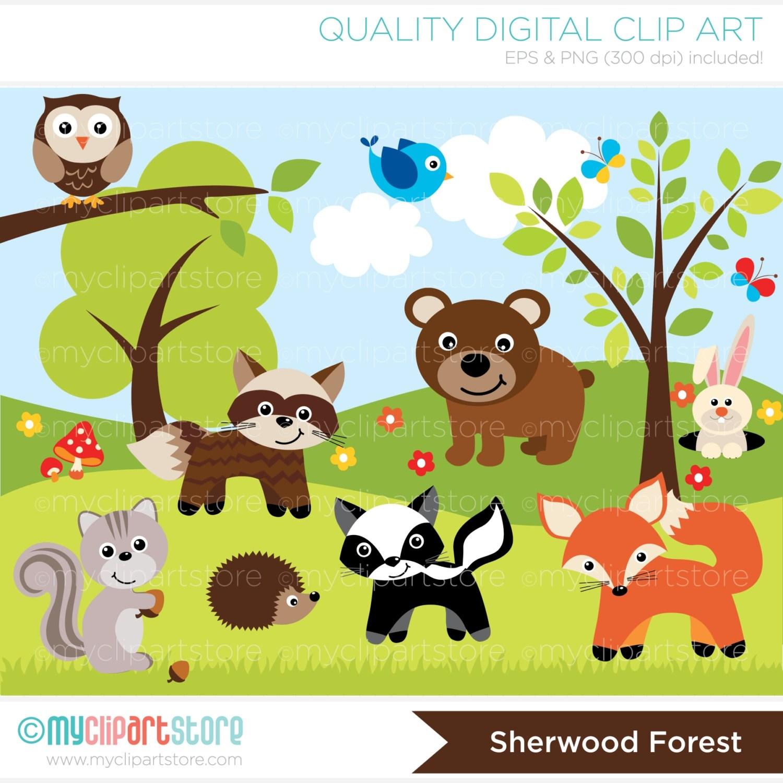Animal habitat clipart clip art free stock Animals and their habitat clipart 6 » Clipart Portal clip art free stock
