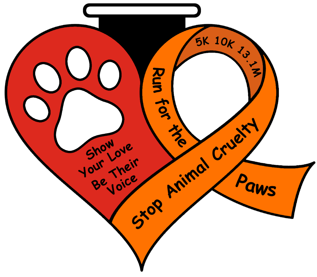 Running heart clipart banner black and white download STOP ANIMAL CRUELTY AWARENESS RUN – Full Medal Runs banner black and white download