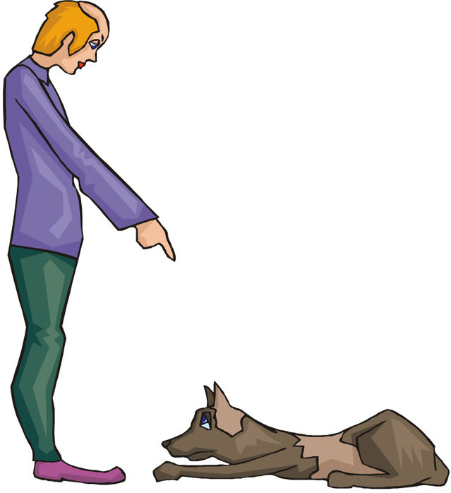 Unknown to tone person clipart jpg freeuse library Who Gives a Dog a Command and How It Is Given Matters | Psychology Today jpg freeuse library