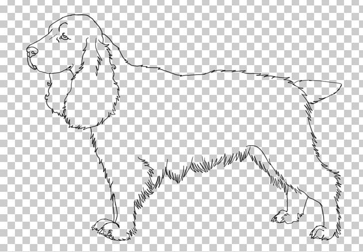 Animal in field black and white clipart banner black and white library Dog Breed Puppy Field Spaniel English Springer Spaniel Welsh ... banner black and white library