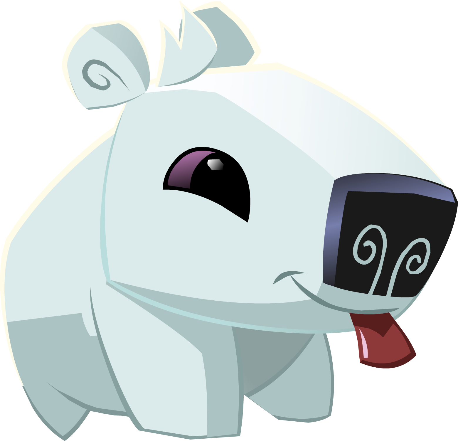 Animal jam flower crown clipart clip freeuse Image - Pet polar bear.png | Animal Jam Wiki | FANDOM powered by Wikia clip freeuse