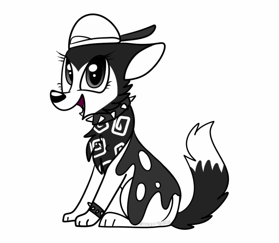 Animal jam fox clipart black and white graphic free library Animal Jam - Animal Jam Black Arctic Wolf, Transparent Png Download ... graphic free library