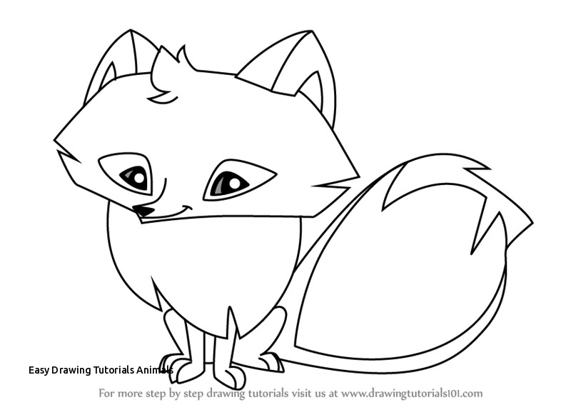 Animal jam fox clipart black and white transparent stock Animal Jam Drawings at PaintingValley.com   Explore collection of ... transparent stock