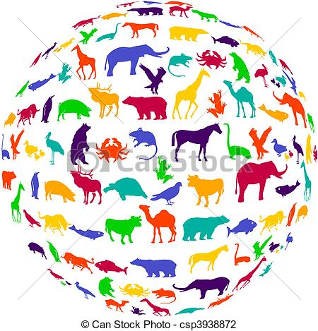 Animal kingdom clipart vector royalty free download Animal kingdom Clipart Vector Graphics. 303 Animal kingdom EPS ... vector royalty free download