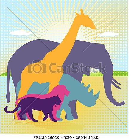 Animal kingdom clipart vector freeuse library Animal kingdom Clipart Vector Graphics. 303 Animal kingdom EPS ... vector freeuse library