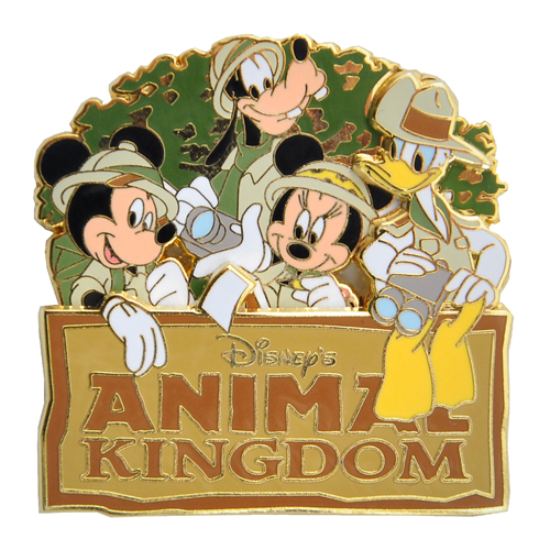 Animal kingdom disney clipart clip royalty free stock Disney Animal Kingdom Pin - Mickey and Friends clip royalty free stock