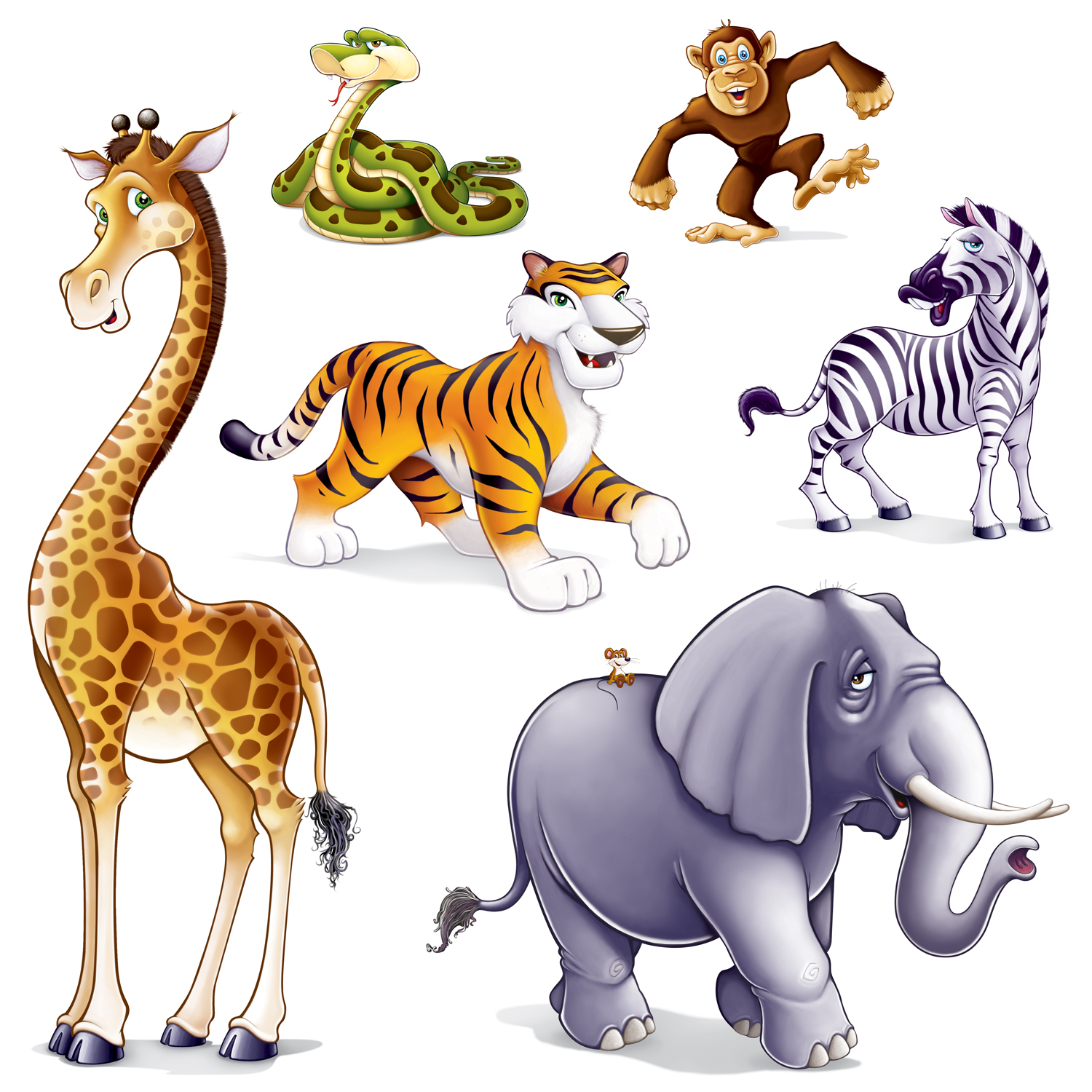 Animals clipart images vector free library Realistic Animal Clipart | Free download best Realistic Animal ... vector free library