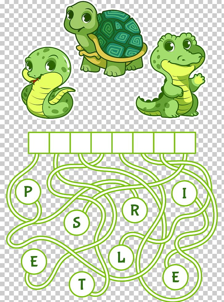 Animal maze clipart clip royalty free Educational Puzzle Game Find The Hidden Word Cartoon Illustration ... clip royalty free