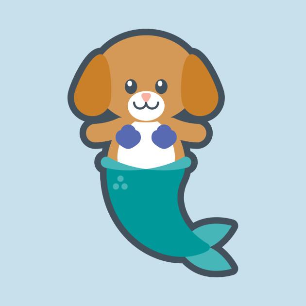 Animal mermaid clipart image freeuse stock Mermaid Dog - MerDog image freeuse stock
