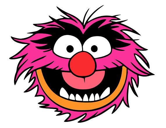 Animal muppet clipart clip art library Animal and Drum Muppets Musician svg files   Creatively Speaking ... clip art library