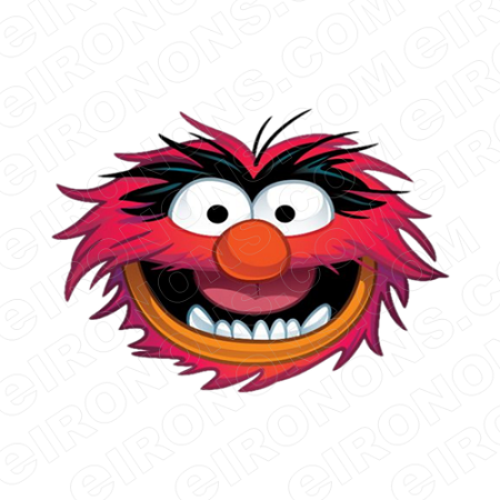Animal muppet clipart clipart free THE MUPPETS ANIMAL BIG HEAD TV CLIPART PNG IMAGE SCRAPBOOK INSTANT DOWNLOAD  #TVTM22 clipart free