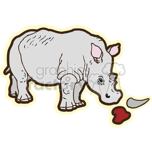 Animal poaching clipart clip art library download Rhino Poaching clipart. Royalty-free clipart # 394663 clip art library download