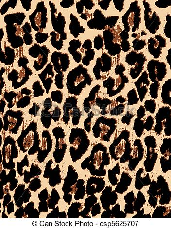 Cheetah Pattern Clipart - Clipart Kid clipart download