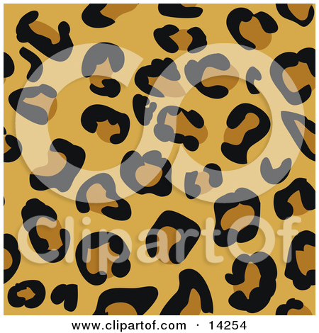 Leopard print clipart pattern - ClipartFest clip art royalty free