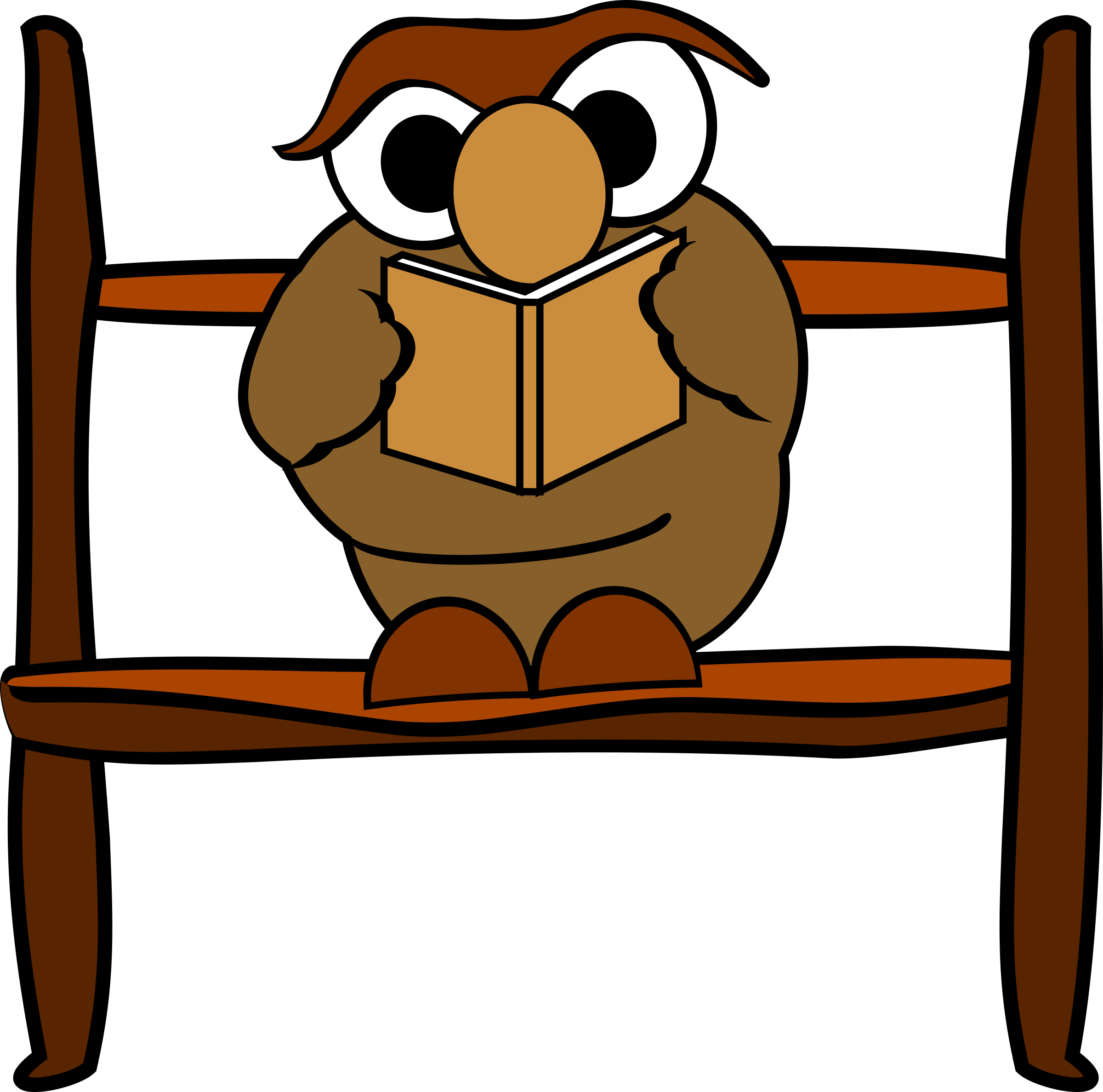 Owl book clipart png transparent Clipart - Reading owl png transparent