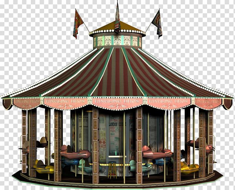 Animal ride in a amusment park clipart graphic transparent Amusement ride Gazebo Amusement park, Circus Animal transparent ... graphic transparent