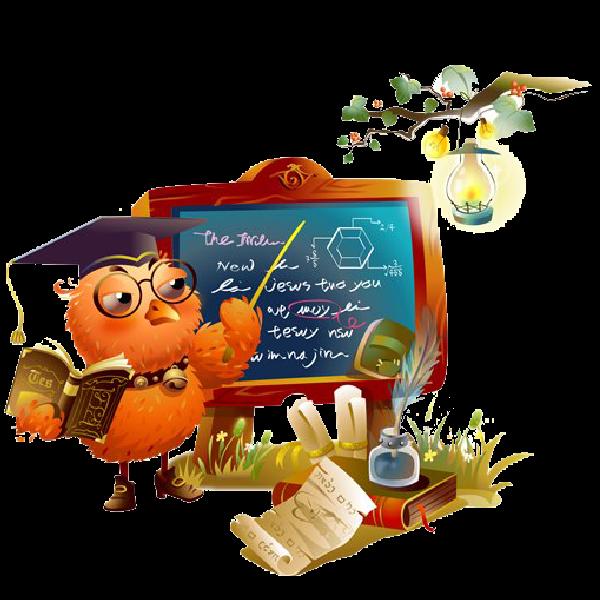 Animal school clipart picture transparent Owl School Teacher - School Funny Images picture transparent