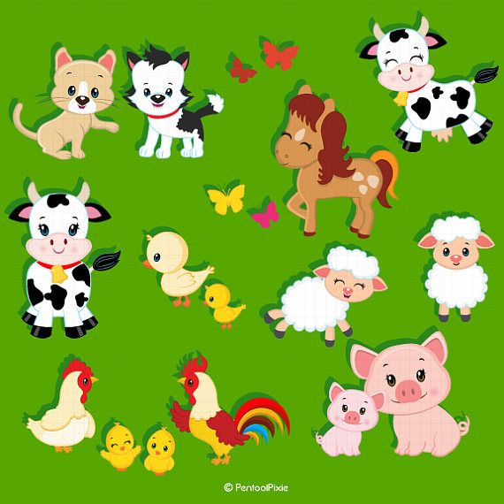 Animal show clipart clipart library download Farm animals clipart Farmer Girls clipart Farm clipart | Quiet book ... clipart library download