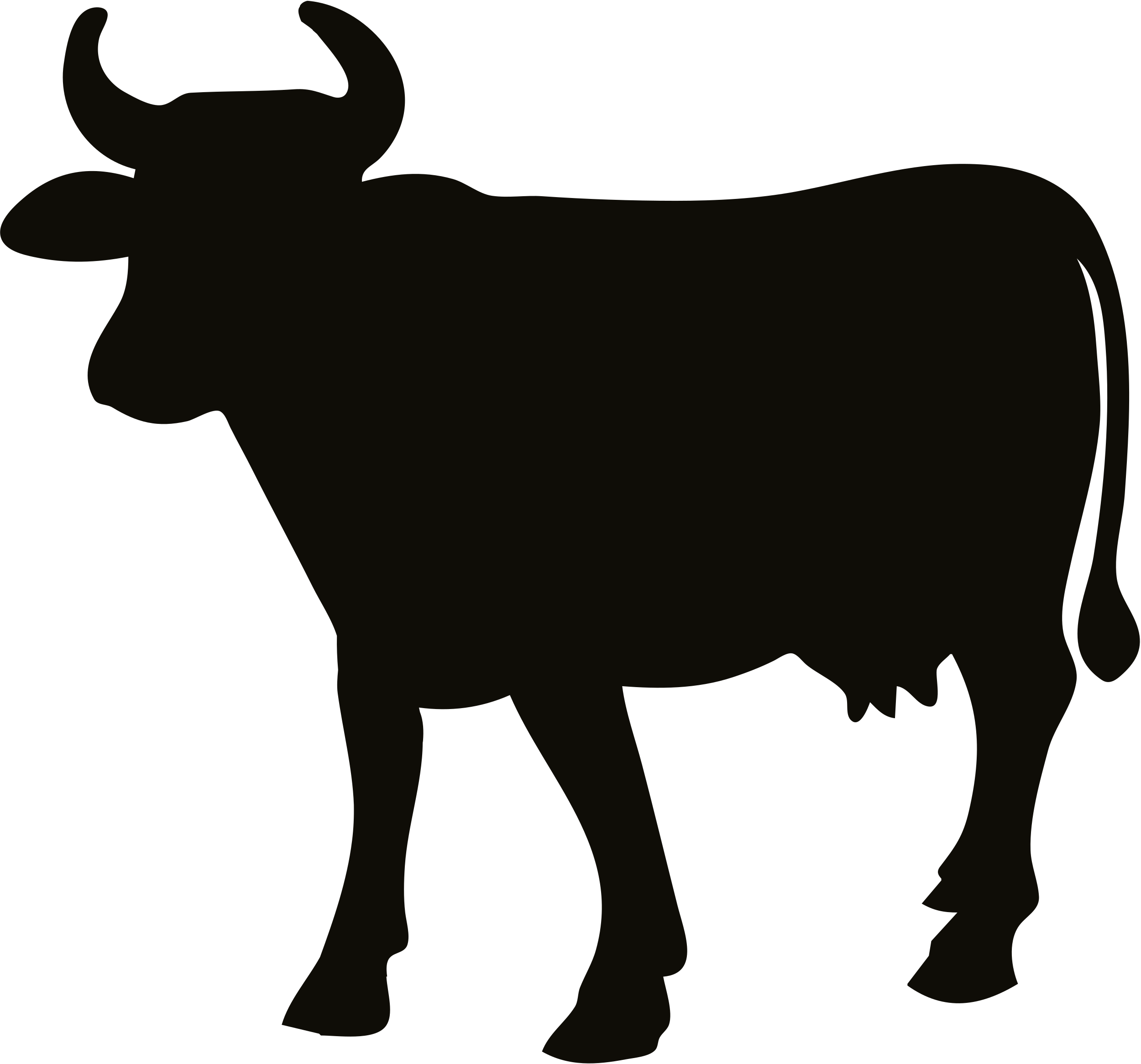 Animal silhouette clipart cow image library download Cattle Clip art Vector graphics Cow Silhouette - qurba png qurban ... image library download