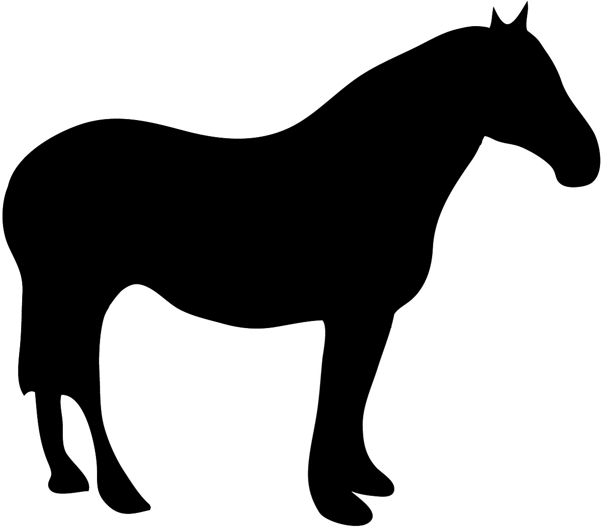 Animal silhouettes clipart image freeuse download Animal Silhouette, Silhouette Clip Art image freeuse download