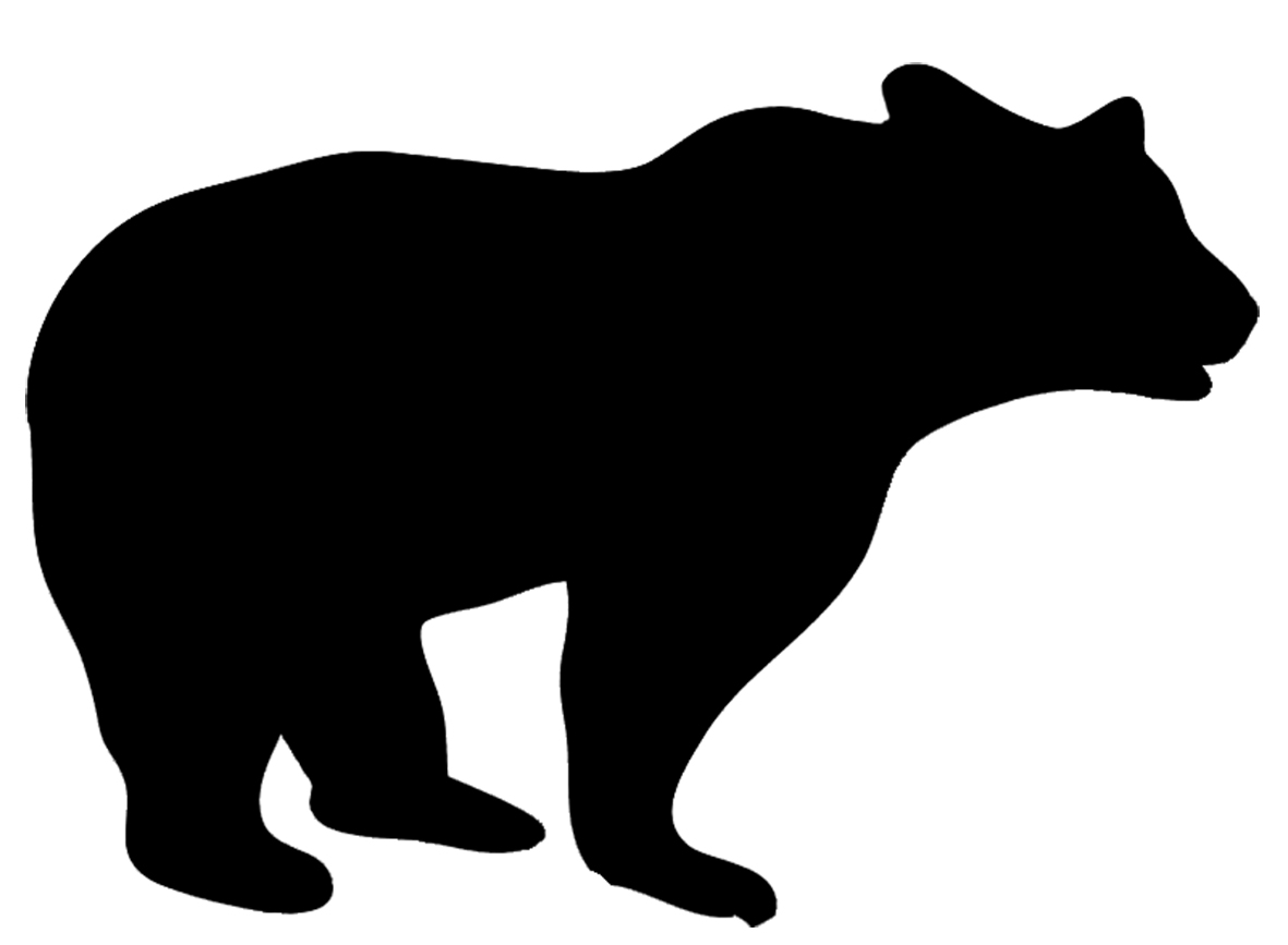 Silhouette clipart animals banner black and white download Animal Silhouette, Silhouette Clip Art banner black and white download