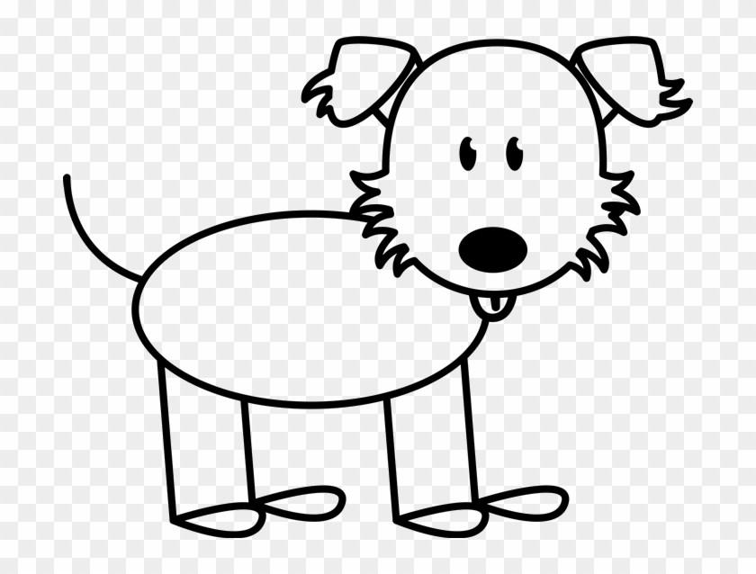 Husky stick figure clipart black and white png transparent stock Stick figure dog clipart 2 » Clipart Portal png transparent stock