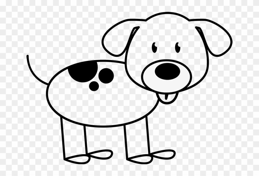 Animal stick figures clipart jpg library library Dog Spots On Back Outline Stamp - Stick Figure Clipart Outline Free ... jpg library library