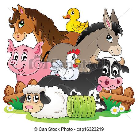 Animal stock clipart. Vector clip art of