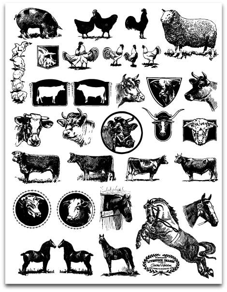 Animal stock clipart vector library download Stock Clipart | Free Download Clip Art | Free Clip Art | on ... vector library download