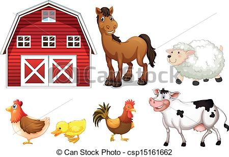 Clip art vector of. Animal stock clipart