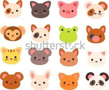 Vector illustration of various. Animal stock clipart