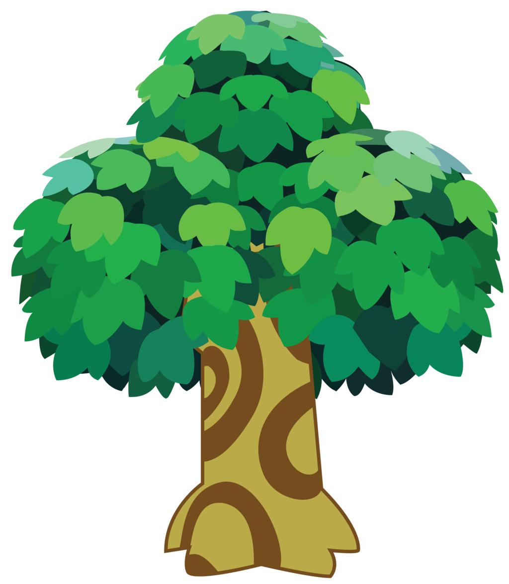 Animal tree clipart freeuse library Animal Crossing Tree by FennellsDesign on DeviantArt freeuse library