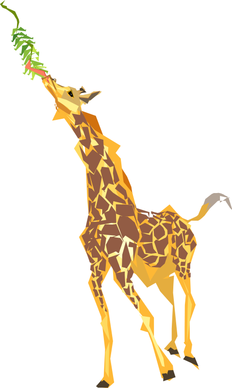 Animal tree clipart graphic transparent library Giraffe Clip Art Royalty FREE Animal Images   Animal Clipart Org graphic transparent library