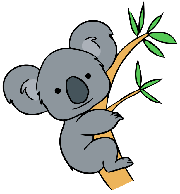 Bear tree clipart banner royalty free stock cartoon koala - Google Search | Animals | Pinterest | Cartoon, Clip ... banner royalty free stock