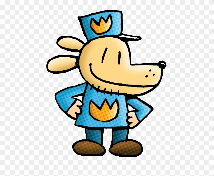 Animal vs man clipart graphic freeuse download Dog Man By Dav Pilkey Clipart (#737378) - PinClipart graphic freeuse download