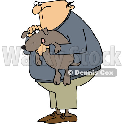 Person Holding Animal Clipart picture transparent