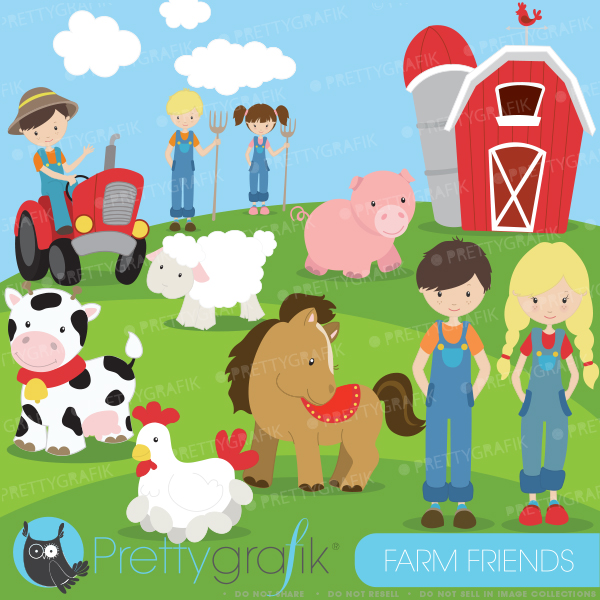 Clip Art Baby Farm Animals Clipart - Clipart Kid freeuse stock