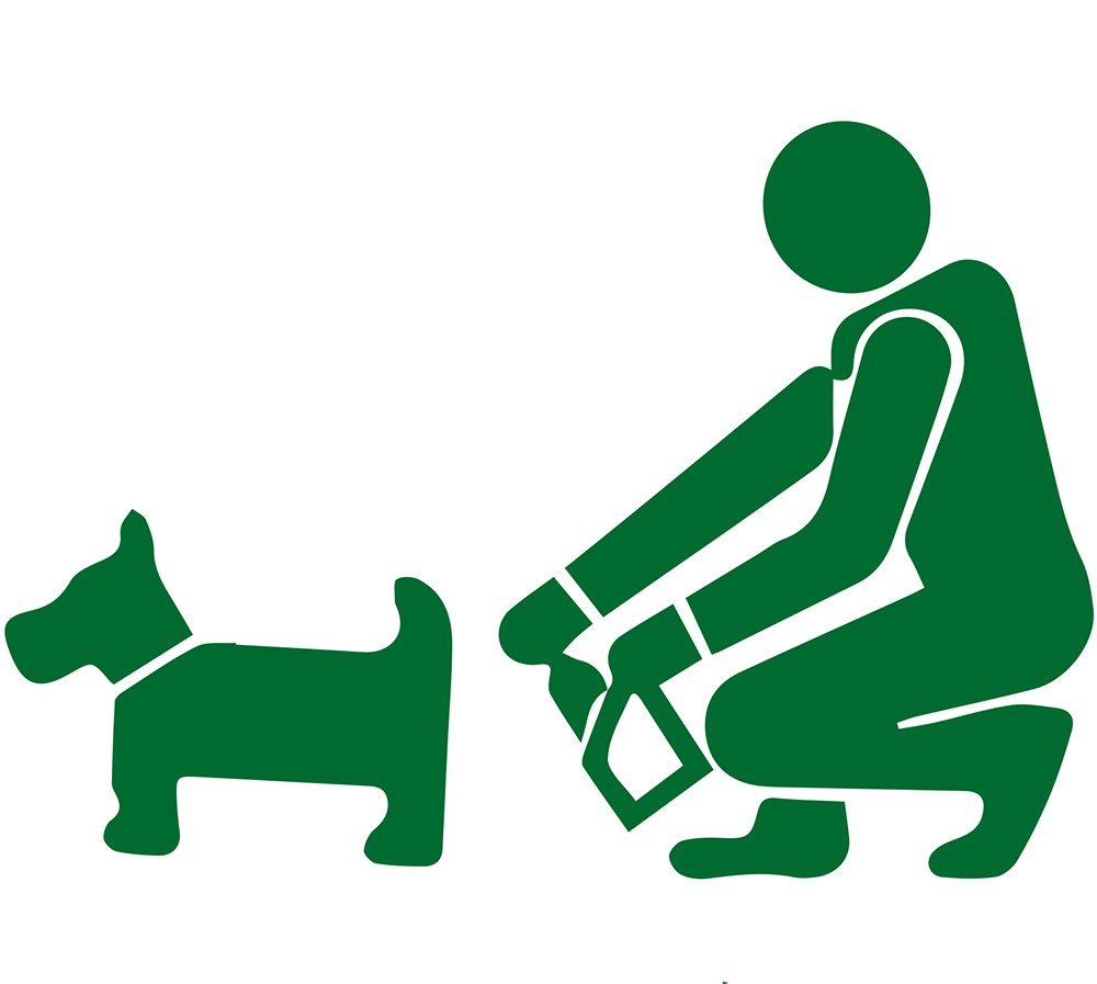 Animal waste clipart