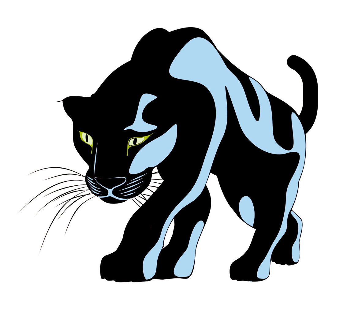 Clipart panthers banner black and white stock Free Panther Head Cliparts, Download Free Clip Art, Free Clip Art on ... banner black and white stock