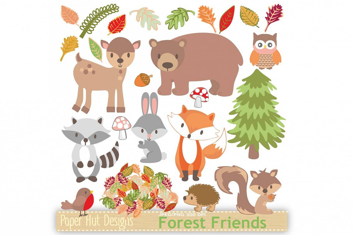 Woodland animal clipart image transparent download Woodland Animals Clipart image transparent download