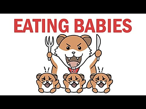 Animals being eaten clipart jpg library library Why Do Animals Eat Their Babies? - YouTube jpg library library