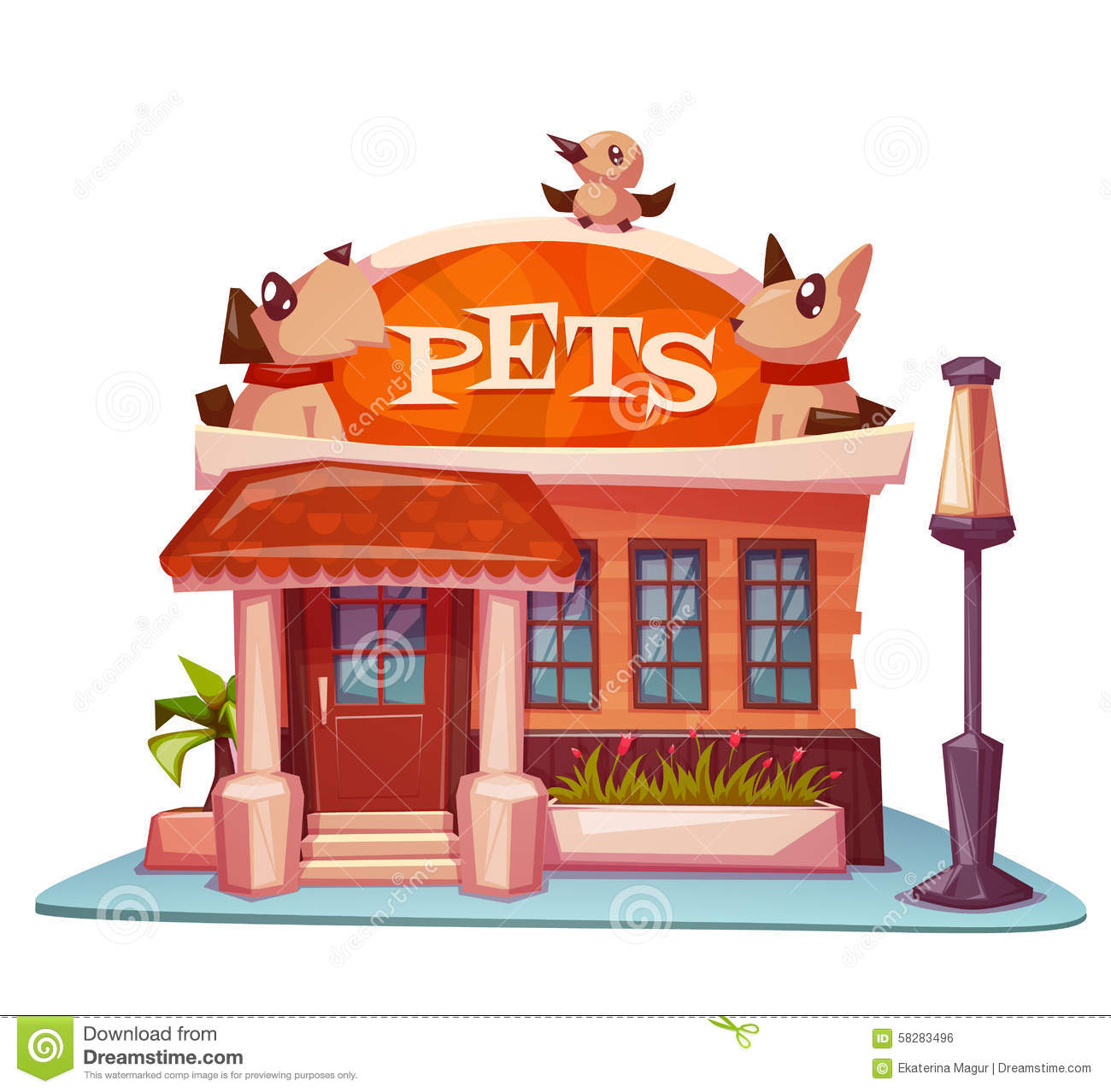 Animals building clipart clip art royalty free library Pet Store Animals Clipart - Clip Art Library clip art royalty free library