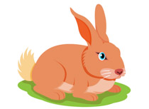 Free Rabbit Clipart - Clip Art Pictures - Graphics - Illustrations clip black and white