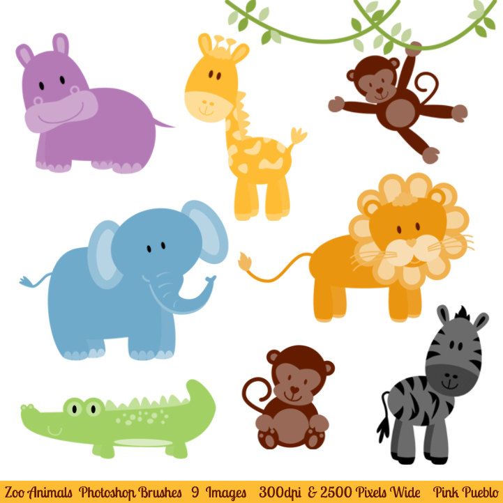 Animals clipart for photoshop
