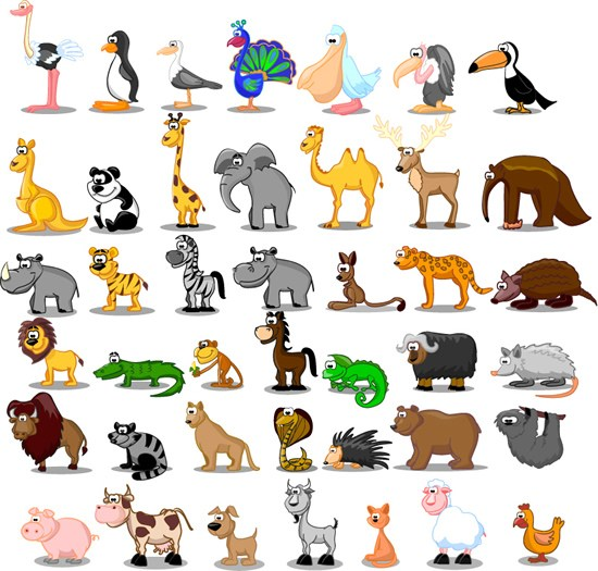 Animals clipart free download graphic black and white library Animals clipart free download 3 » Clipart Portal graphic black and white library