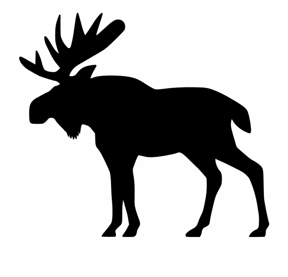 Animals clipart moose clip freeuse download Moose Big Animals M Moose Moose Big Png Html - Moose Clipart Black ... clip freeuse download